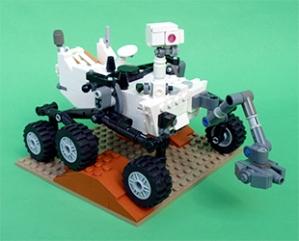 Mars Rover Legos